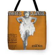 Scandals Songsheet, 1928 Tote Bag