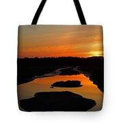 Scarborough Marsh Sunset 1 Tote Bag