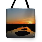 Scarborough Marsh Sunset 2 Tote Bag