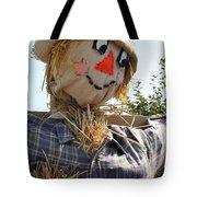 Scarecrow Farmer Tote Bag