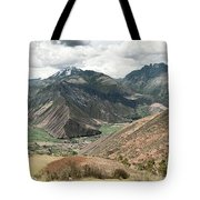 Scared Valley II Tote Bag