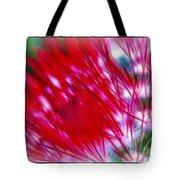 Scarlet Sabers Tote Bag