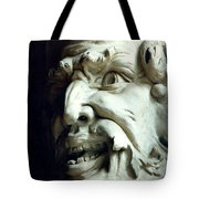 Scary Face Tote Bag