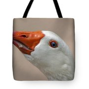 Scary Goose Tote Bag