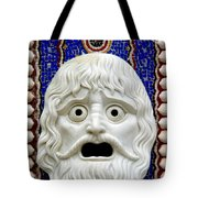 Scary Mask Art Tote Bag
