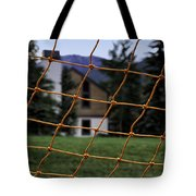 Scene Through A Volley Ball Court 2 Tote Bag