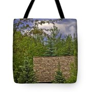 Scene Through The Trees - Vail Tote Bag