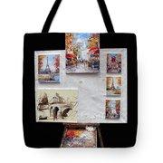 Scenes Of Paris For Sale Tote Bag