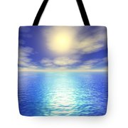 Scenic Ocean View Tote Bag