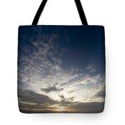Scenic Sunset Over Malapascua Island Tote Bag