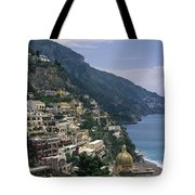 Scenic View Of The Beach And Hillside Tote Bag