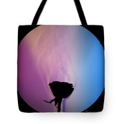 Schlieren Image Of A Roses Aroma Tote Bag