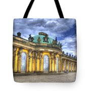 Schloss Sanssouci     Berlin Tote Bag