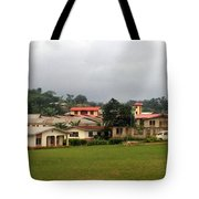 School Ground In Nigeria Tote Bag