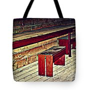 School House Benched And Dusted Tote Bag