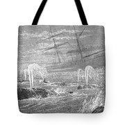 School Of Whales, 1876 Tote Bag