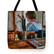 Schoolmarm's Desk Tote Bag