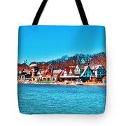 Schuylkill Navy Boat House Row Tote Bag