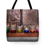 Science - Chemist - Glassware For Couples Tote Bag