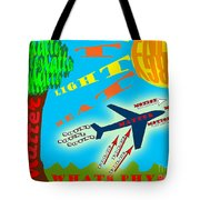 Science Classroom Poster On Physics Tote Bag