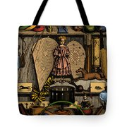 Science In The Nursery, Frontispiece Tote Bag