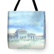 Scituate Lighthouse Tote Bag