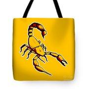 Scorpion Graphic  Tote Bag
