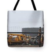 Scrapyard Machinery Tote Bag