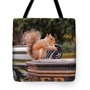 Scratchy Tote Bag