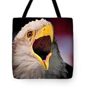 Screaming Eagle I Tote Bag