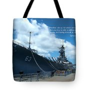 Scripture And Picture Ehesians 6 13 Tote Bag