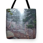 Scripture And Picture Psalm 48 14 Tote Bag