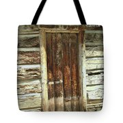 Scripture And Picture Revelation 3 20 Tote Bag
