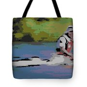 Sculling For The Win Tote Bag