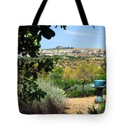 Sculpture Garden In Sicily 2 Tote Bag