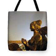 Sculpture Of A Woman Tote Bag