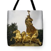 Sculpture Of Columbia Triumphant  Tote Bag