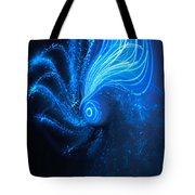 Sea At Night Tote Bag