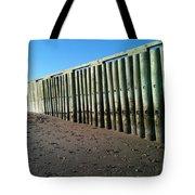 Sea Green Pier Tote Bag