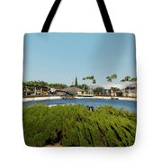 Sea Gull Checking Me Out Digital Art Tote Bag
