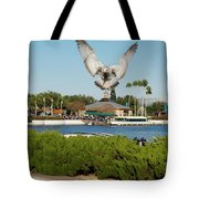 Sea Gull With Full Flaps Tote Bag