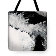 Sea Ice In The Southern Ocean Tote Bag