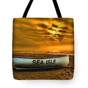 Sea Isle Dawn Tote Bag
