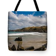 Sea Landscape With Bay Beach Tote Bag