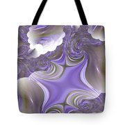 Sea Of Lavender Tote Bag
