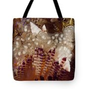 Sea Snails Laying Eggs On Top Of A Fire Tote Bag