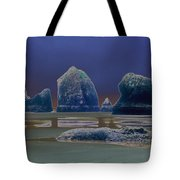 Sea Stacks On The Oregon Coast Tote Bag