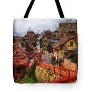 Sea Town Tote Bag