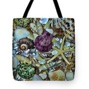Sea Treasure - Square Format Tote Bag