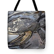 Sea Turtle At Risk Tote Bag